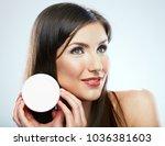 beauty portrait young woman...   Shutterstock . vector #1036381603