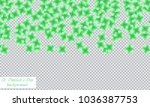 st. patrick s day background.... | Shutterstock .eps vector #1036387753
