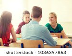 education  learning and people... | Shutterstock . vector #1036397863