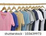 choice of man clothes of... | Shutterstock . vector #103639973