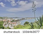 Small photo of A View of Marigot from Fort Louis in Saint Martin