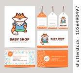 branding baby shop. logo ... | Shutterstock .eps vector #1036490497