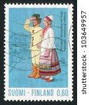 finland   circa 1973  stamp... | Shutterstock . vector #103649957