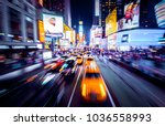 time square new your in... | Shutterstock . vector #1036558993