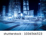 the night view of the... | Shutterstock . vector #1036566523