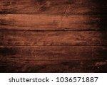 wood texture background  brown... | Shutterstock . vector #1036571887