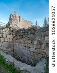 Small photo of Two Pools of Bethesda - pools of water in the Muslim Quarter of Jerusalem, on the path of the Beth Zeta Valley, near Church of Saint Anne, Old City of Jerusalem, Israel