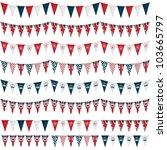 horizontally seamless united... | Shutterstock .eps vector #103665797