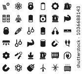 flat vector icon set   kettle... | Shutterstock .eps vector #1036688143