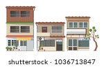 building vector collection | Shutterstock .eps vector #1036713847