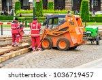 prague  czech republic  16 may... | Shutterstock . vector #1036719457