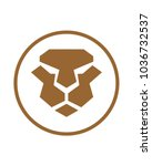 tiger abstract logo template | Shutterstock .eps vector #1036732537