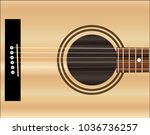 a typical acoustic guitar sound ...   Shutterstock . vector #1036736257