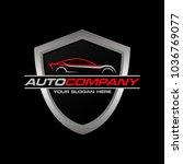 car logo vector illustration.... | Shutterstock .eps vector #1036769077