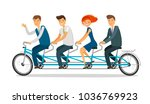 teamwork concept. business... | Shutterstock .eps vector #1036769923