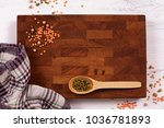 rustic wooden board  checkered... | Shutterstock . vector #1036781893