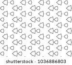 seamless vector pattern in... | Shutterstock .eps vector #1036886803
