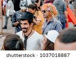 beer sheva  israel   march 01 ...   Shutterstock . vector #1037018887