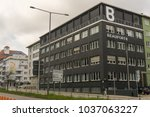 Small photo of STUTTGART,GERMANY - JANUARY 27,2018: Beaufort 8 It's an ad agency in Kriegsbergstrasse.The building is in the centre of the city and near main station.