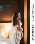 beautiful  sexy  fashionable...   Shutterstock . vector #1037067127