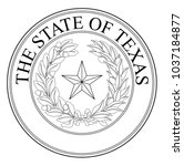 the seal of the united steas of ...   Shutterstock . vector #1037184877
