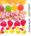 colorful jelly candies... | Shutterstock . vector #103720697