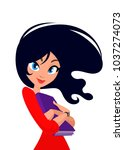 vector illustration of young... | Shutterstock .eps vector #1037274073