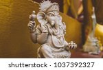 statue of ganesha god close up. ... | Shutterstock . vector #1037392327