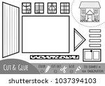 education paper game for... | Shutterstock .eps vector #1037394103