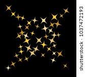 colorful stars confetti ...   Shutterstock .eps vector #1037472193