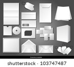 corporate templates | Shutterstock .eps vector #103747487