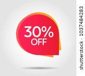 discount offer price label ... | Shutterstock .eps vector #1037484283