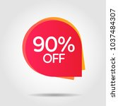 discount offer price label ... | Shutterstock .eps vector #1037484307