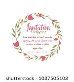 wedding  anniversary  born ... | Shutterstock .eps vector #1037505103