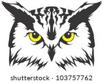 Creative Owl Illustration - stock vector