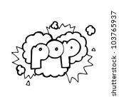 cartoon pop sign | Shutterstock .eps vector #103765937