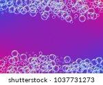 cleaning foam on gradient... | Shutterstock .eps vector #1037731273