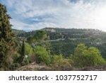 scenic view of ein karem   an...   Shutterstock . vector #1037752717