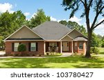Colonial Brick House With...