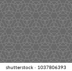 geometric shape abstract vector ... | Shutterstock .eps vector #1037806393