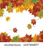 vector of autumn  colorful...