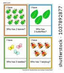 educational math game   i have... | Shutterstock .eps vector #1037892877