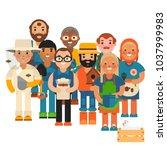 farmer character man...   Shutterstock .eps vector #1037999983