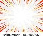 superhero comic book poster...   Shutterstock .eps vector #1038002737