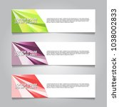 vector design banner background. | Shutterstock .eps vector #1038002833