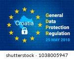 gdpr   general data protection... | Shutterstock .eps vector #1038005947