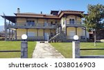 plaka litochoro  greece  march...   Shutterstock . vector #1038016903