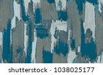 painting on canvas handmade.... | Shutterstock . vector #1038025177