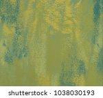 painting on canvas handmade.... | Shutterstock . vector #1038030193