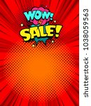 sale banner template background.... | Shutterstock .eps vector #1038059563
